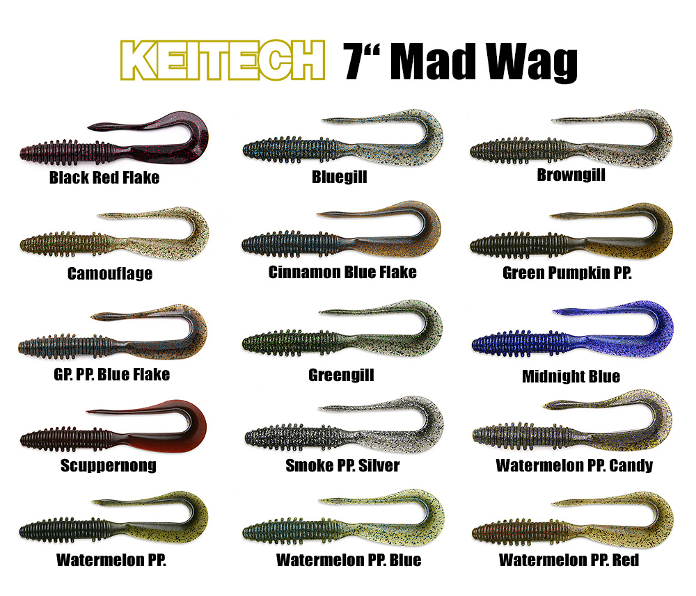 "7"" Mad Wag Farben"